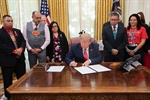 Vice President Lizer joins President Trump for signing of Missing and Murdered Indigenous Persons executive order